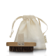 EXFOLIATING BODY BRUSH & ORGANIC POUCH